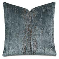 Focaccia Decorative Pillow In Light Blue