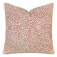 Tapir Decorative Pillow In Orange