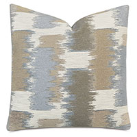 Shea Woven Decorative Pillow in Taupe