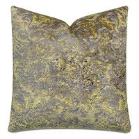 Byzantine Velvet Decorative Pillow In Amethyst