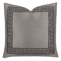 Whistler Greek Key Decorative Pillow