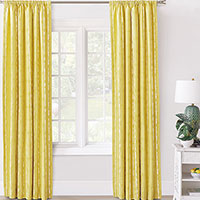 Meyer Painterly Stripe Curtain Panel