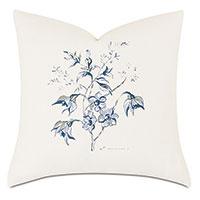 Liesl Handpainted Decorative Pillow
