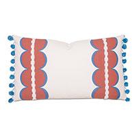 Bingham Ball Trim Decorative Pillow