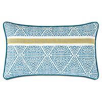 Clementine Trim Application Decorative Pillow