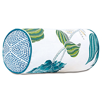 Clementine Embroidered Bolster
