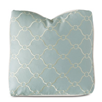 Stockholm Embroidered Decorative Pillow