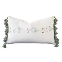 Stockholm Handpainted Decorative Pillow