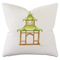 Dublin Pagoda Decorative Pillow