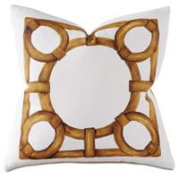 Tanzania Handpainted Decorative Pillow