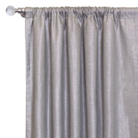 Reflection Taupe Curtain Panel