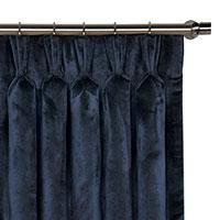 Nellis Azure Curtain Panel
