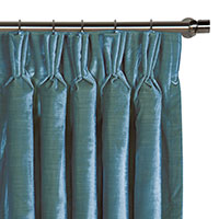 Winchester Peacock Curtain Panel