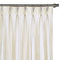 Ambiance Snow Curtain Panel