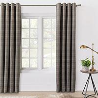 Donoghue Slate Curtain Panel