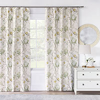 Magnolia Mint Curtain Panel