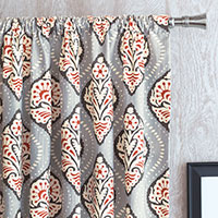 Bowie Ogee Curtain Panel