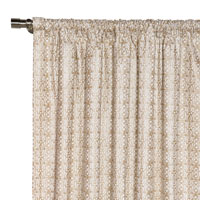 Cordova Taupe Curtain Panel