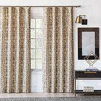 Yara Earth Curtain Panel