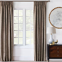 Roxanne Speckle Curtain Panel
