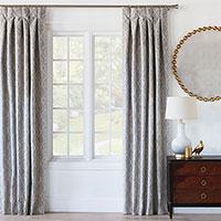 Safford Ogee Curtain Panel