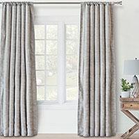 Persea Broken Stripe Curtain Panel