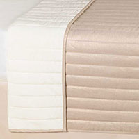 Reflection Gold Coverlet