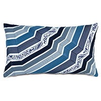 Adelle Ombre Decorative Pillow In Blue