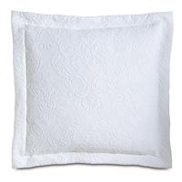 Sandrine White Decorative Pillow