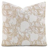 Lagos Sand Square Accent Pillow