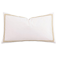Enzo White/Antique With Flange