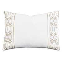 Nicola Wheat Oblong Accent Pillow