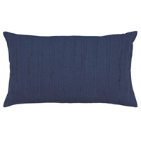 Shiloh Indigo Oblong Decorative Pillow