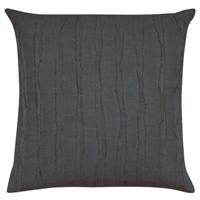 Shiloh Charcoal Square Decorative Pillow