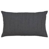 Shiloh Charcoal Oblong Decorative Pillow