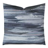 Lyra Watercolor Decorative Pillow