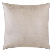 Teryn Faux Snakeskin Decorative Pillow