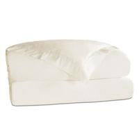 Roma Sateen Duvet Cover in Ivory
