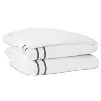 Autry White Duvet Cover