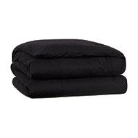 Resort Black Duvet Cover