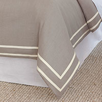 Resort Stone Fret Duvet Cover
