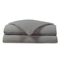 Shiloh Linen Duvet Cover in Cement
