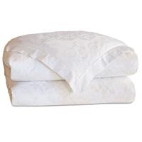 Ornato White Duvet Cover