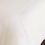 Enzo Ivory/White Duvet Cover