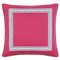 Decker Pink Euro Sham