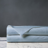Roma Luxe Azure Flat Sheet