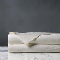 Roma Sateen Flat Sheet in Ivory