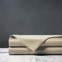 Roma Luxe Sable Flat Sheet