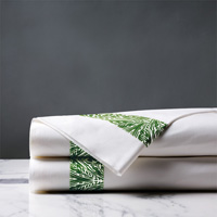 Adelle Percale Flat Sheet In Grass