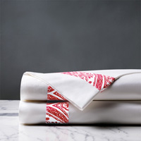 Adelle Percale Flat Sheet In Sorbet